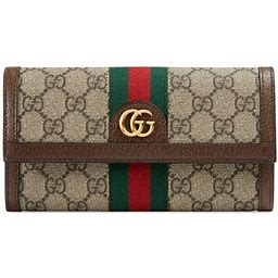 Gucci - Ophidia GG Continental Wallet, Brown, GG Canvas